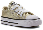 Converse Girls' Chuck Taylor All Star Metallic Ox Infant/Toddler