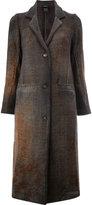 Avant Toi single breasted coat - women - Cotton/Cashmere/Wool/Virgin Wool - XS