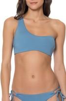 Red Carter Women's One-Shoulder Bikini Top