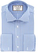 Thomas Pink Thomas Pink Summers Check Slim Fit Double Cuff