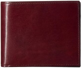 Bosca Old Leather Euro RFID Executive Wallet w/ Coin Pocket (Brown) Handbags