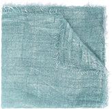 Faliero Sarti raw edge scarf - unisex - Silk/Polyester/Cupro/Modal - One Size