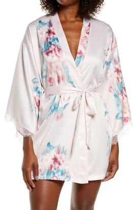 Jonquil Lovely Rita Floral Wrap Robe
