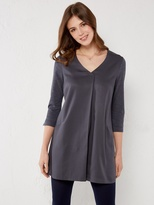 White Stuff Lolly tuck front jersey tunic