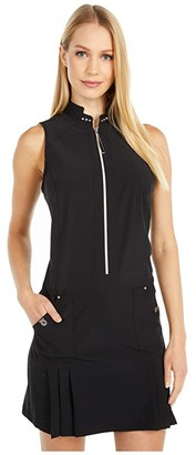 Jamie Sadock Airwear(r) Lightweight Dress with Shortie (Jet Black) Women's Dress