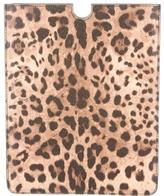 Dolce & Gabbana Leopard Print iPad Case