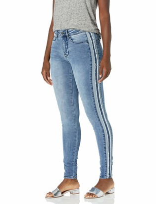 Lola Jeans Women's Plus Size High Rise Skinny