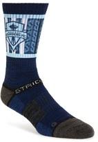 Strideline Men's 'Seattle Sounders Fc' Strapped Fit 2.0 Socks