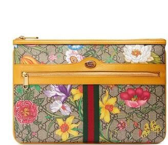 Gucci Ophidia Flora clutch bag