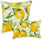 Lemonade Outdoor Throw Pillow in Lemon