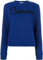 Carven printed sweatshirt - women - Cotton - XS