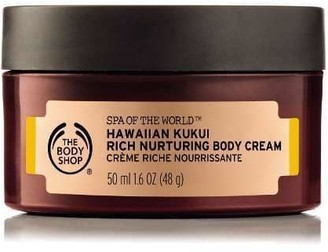 The Body Shop Spa of the World Hawaiian Kukui Body Cream Moisturizer