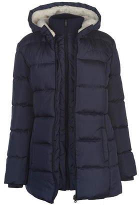 Lee Cooper Long Padded Jacket Ladies