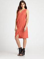 L'Agence Drape Dress