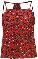 Fashion Union Petite PRIMUS ANIMAL Vest brown animal print