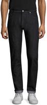 Z Zegna Five-Pocket Fading Straight Leg Jeans