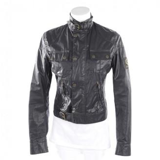 Belstaff Grey Leather Jacket for Women