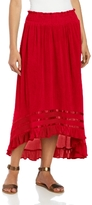 Chaudry Women's Long High Low Skirt Option