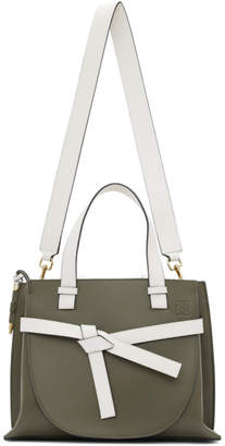 Loewe Grey Small Gate Top Handle Bag
