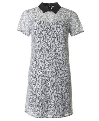 Michael Kors Lace T-shirt Dress Colour: ECRU, Size: 14