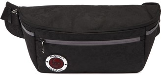 Alexander McQueen Black Nylon Belt Bag With Logo Patch