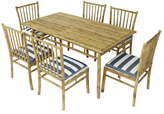 Director Chairs and Table Dining Set (7 PC)