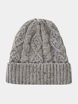 Burton Burton Grey Nep Cable Beanie Hat