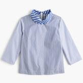 J.Crew Collection Thomas Mason® for scarf-neck top