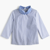 Thomas Mason Pre-order Collection for J.Crew scarf-neck top