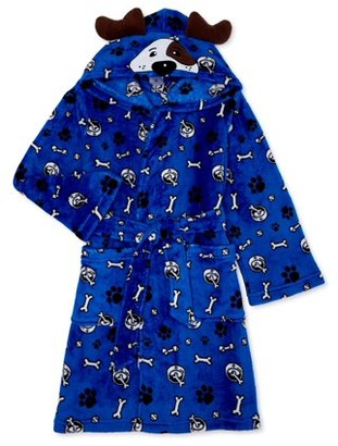 Championship Gold Toddler Boys Cosplay Critter Hooded Bath Robe (2T-4T)