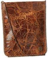 Leather Rock Cell Pouch/Crossbody Bags