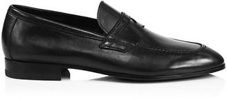 Paul Stuart Malta Leather Penny Loafers