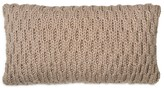 "DKNY Loft Stripe Knit Decorative Pillow, 11"" x 22"""