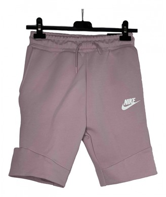 Nike Pink Cotton Shorts