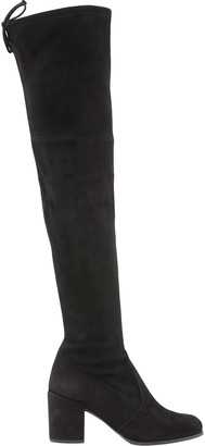 Stuart Weitzman Leather Cuissard Boot
