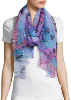 Collection 18 Butterfly Print Scarf