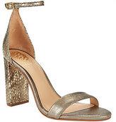 Vince Camuto Two-Strap Block Heel Sandals - Mairana