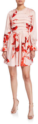 Ted Baker Malaani Fantasia Floral-Print Mini Dress