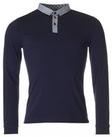 Remus Long Sleeve Contrast Collar Polo