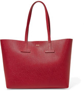 Tom Ford T Small Textured-leather Tote - one size
