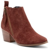 Sole Society Mira Asymmetrical Zip Bootie
