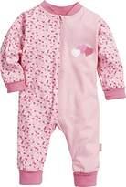 Playshoes Baby Girls Pyjama Overall Jersey Hearts Sleepsuit