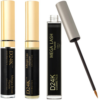D24K by D'OR Lash, Brow, & Lip Enhancement Treatment Set