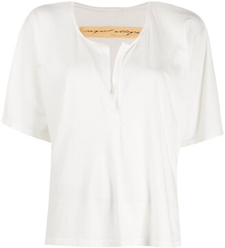 Raquel Allegra V-neck blouse