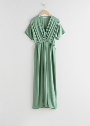 And other stories Twist Knot Dress