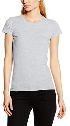 Fruit of the Loom Women's Sofspun T-Shirt,(Manufacturer Size:Large)