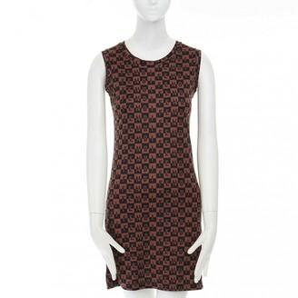 Fendi Brown Polyester Dresses