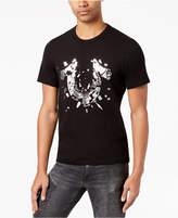 True Religion Men's Shattered Metallic Logo-Print T-Shirt