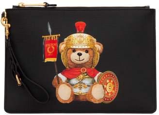 Moschino Teddy Bear Print Clutch Bag