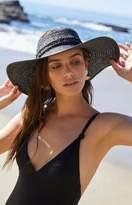 La Hearts No Top Straw Hat